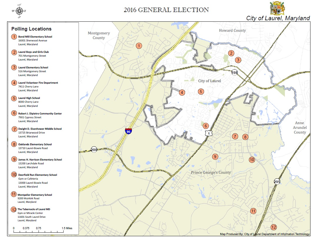 General Election Is November 8 2016  City Of Laurel
