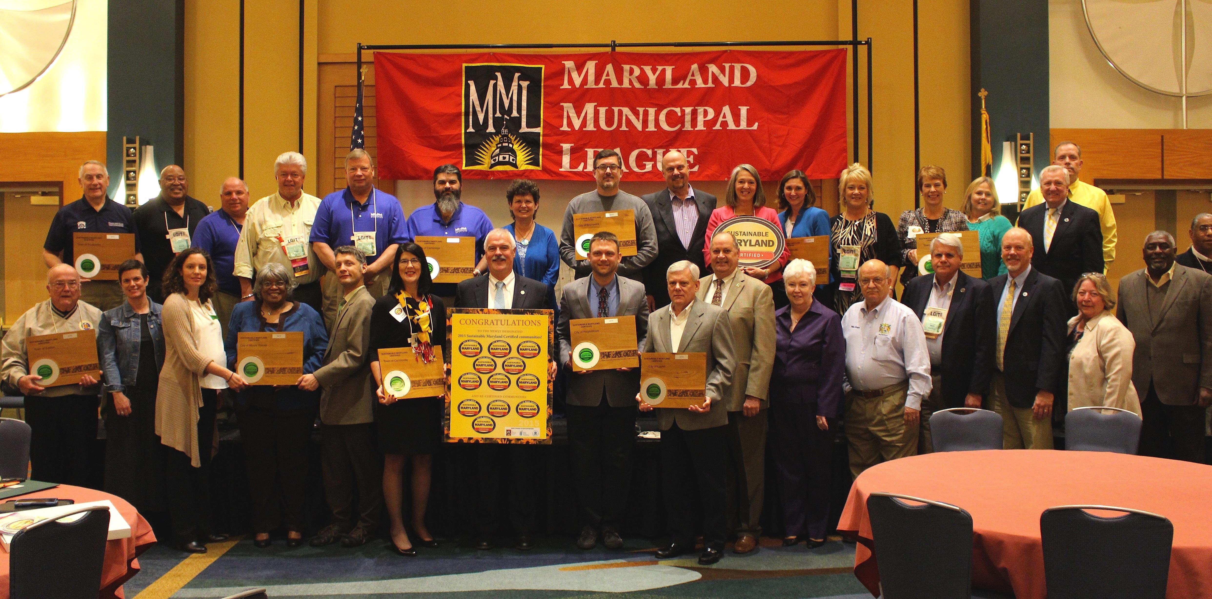 2015 Sustainable Maryland Award