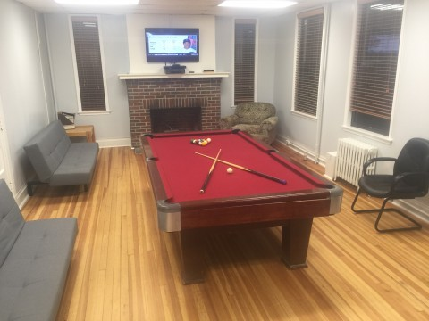 Armory pooltable