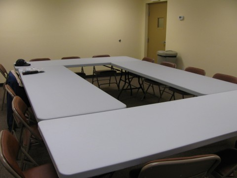 Parks Maintenance Facility, Meeting Room