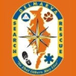 DelMarVa Search & Rescue Logo